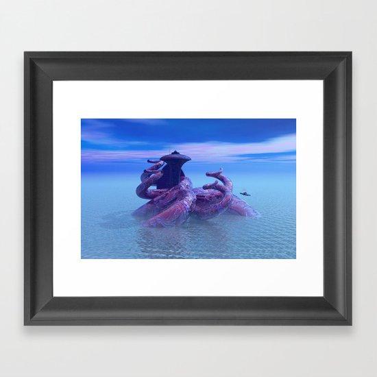 seacity2 Framed Art Print