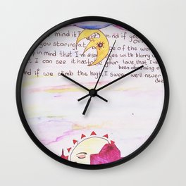 Early Morning, Early Evening. Wall Clock