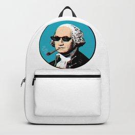 George Washington thug life Backpack