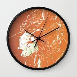 Frambuesas Wall Clock