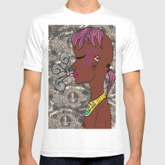 zef Mens Fitted Tee White MEDIUM