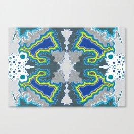 Glacial Kaleidoscope Canvas Print