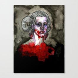 the scapegoat Canvas Print