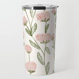 Rose Garden Pattern Travel Mug
