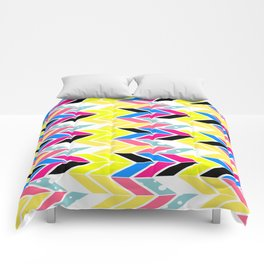 Side Chevron Comforters