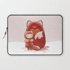 Fox Girl Laptop Sleeve