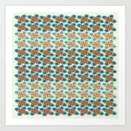 Westworks in Oysters and Pearls Art Print