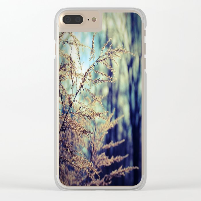 Spirit of Dusk Clear iPhone Case