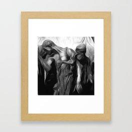 The Burghers of Calais (Detail) Framed Art Print