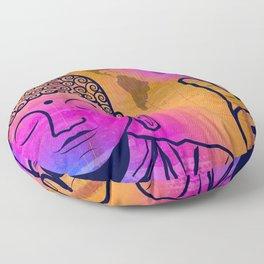 Buddha World Peace Floor Pillow