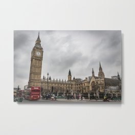 Big Ben and House of Parliament Metal Print