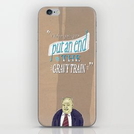 The worst is yet to come! iPhone Skin