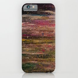 Winter night mistery iPhone Case