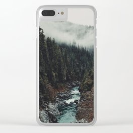 When the sky touch the wild Clear iPhone Case
