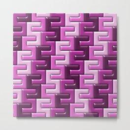 Geometrix XIX Metal Print