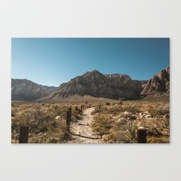 Path to Red Rock Canyon Canvas Print