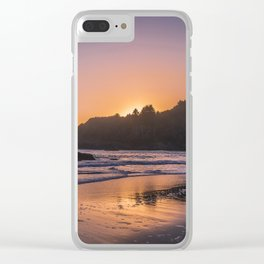 Goodnight Sun Clear iPhone Case