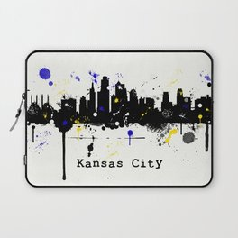 Kansas City Skyline Laptop Sleeve