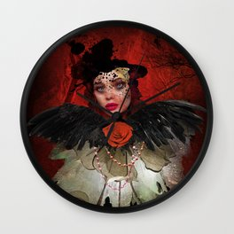 Just a Lady Wall Clock
