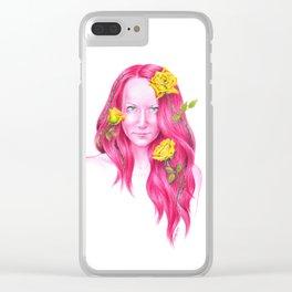Roses | Endometriosis awareness Clear iPhone Case
