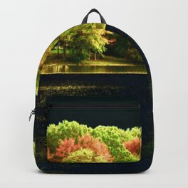 Autumn At Night Backpack