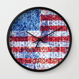 Liberty for all Wall Clock