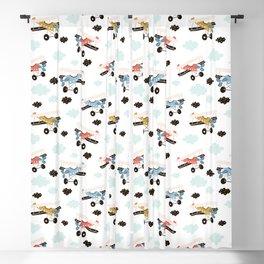 aeroplanes Prints patterns Blackout Curtain