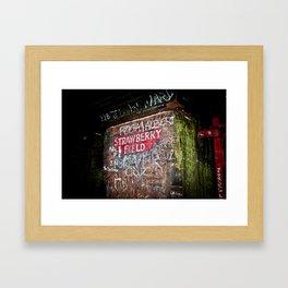 Strawberry Field Forever Framed Art Print