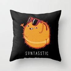 Suntasstic Throw Pillow