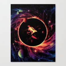 Escape From the Black Hole Canvas Print