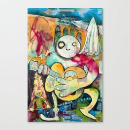 Dirty Angel Canvas Print