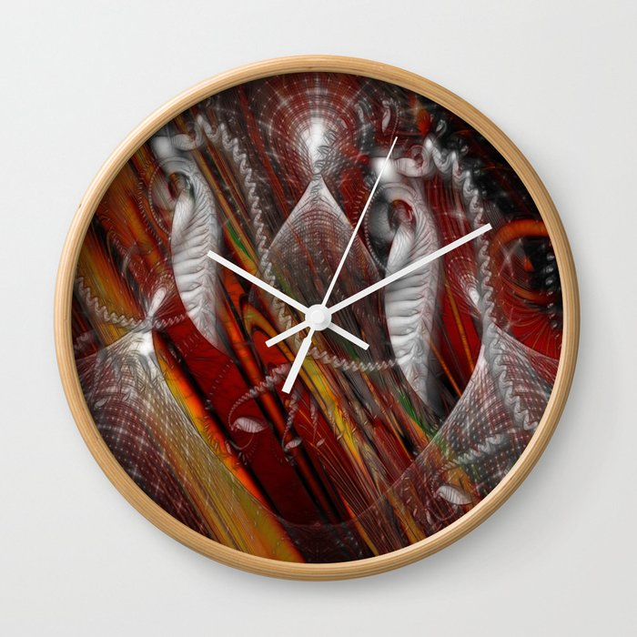 From Within Optical Illusion Art Wall Clock