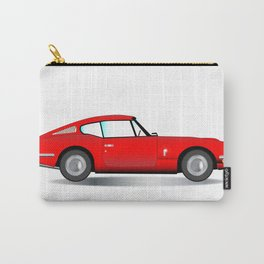 Old Hard Top Sports Car Carry-All Pouch