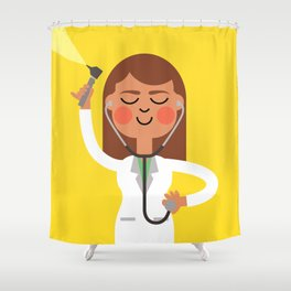 Dr. Doctor Shower Curtain