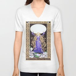 Drawing down the Moon Unisex V-Neck