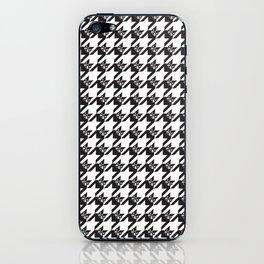 BostonTerrierTooth Tweed iPhone Skin