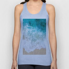BEAUTIFUL WAVES# Unisex Tank Top