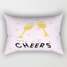 Champagne Cheers! Rectangular Pillow