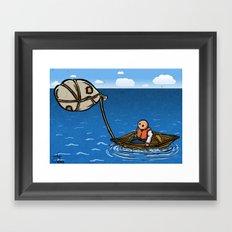 Alternative Travel Framed Art Print
