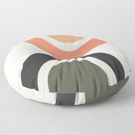 abstract minimal 22 Floor Pillow