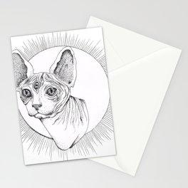 Third Eye Rex Stationery Cards