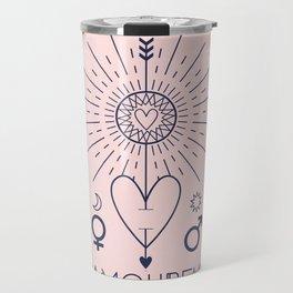 L'Amoureux or The Lover Tarot Travel Mug