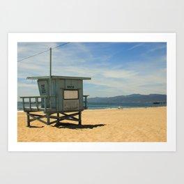 Beach Chillax Art Print