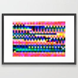 Lent et douloureux Framed Art Print