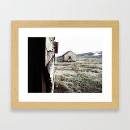 Il buono, il brutto, il cattivo (The good, the bad and the ugly) Framed Art Print