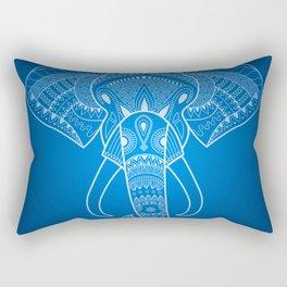 Serious Elephant Two Rectangular Pillow