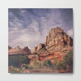 Capitol Reef Naitonal Park Utah Metal Print