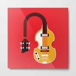 Music Bends: The Violin Metal Print
