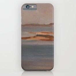 Frederic Leighton - Bamburgh Castle, Northumberland iPhone Case