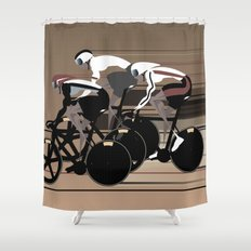 Velodrome Shower Curtain